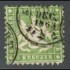 Württemberg: 1862, Wappen 6 Kr. grün (erhöht gepr. Heinrich BPP)