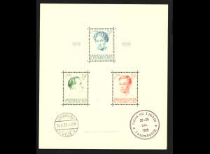 Luxemburg: 1939, Blockausgabe Großherzogin Charlotte