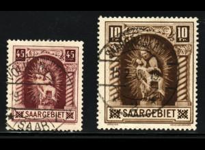 Saargebiet: 1925, Madonna von Blieskastel (gepr. Geigle BPP)