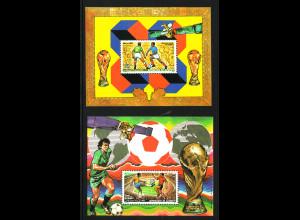 Dschibuti: 1986, Blockpaar Fußball-WM Spanien