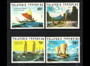Französisch-Poynesien: 1976, Pirogen (Segelschiffe)