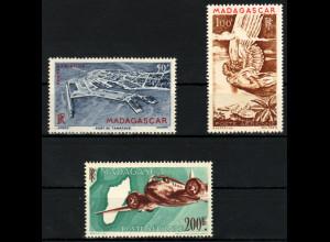 Madagaskar: 1946, Flugpostmarken