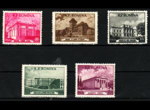 Rumänien: 1955, Museen in Bukarest