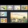 Kap Verde: 1988, Pflanzenschutz (auch Motiv Insekten, Satz und Blockausgabe)