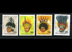 Papua-Neuguinea: 1991, Traditioneller Kopfschmuck