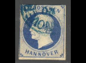 Hannover: 1859, König Georg 2 Gr. (zweiseitig berührt, M€ 50,-)