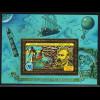 Zentralafrikanische Republik: 1979, Goldblockausgabe Jules Verne
