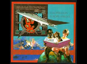 Zentralafrikanische Republik: 1980, Blockausgabe EUROPAFRIQUE