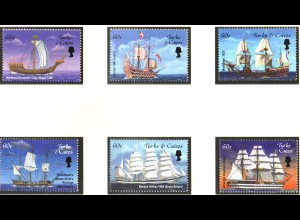 Turks- und Caicos-Inseln: 2001, Alte Segelschiffe