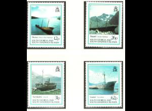 S?d-Georgien: 1990, Schiffswracks