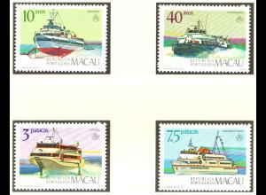 Macau: 1986, Personenfähren