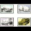 St. Helena: 1990, Überführung von Napoleon (auch historische Segelschiffe)