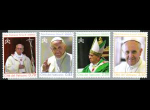 Vatikan: 2014, Papst Franziskus