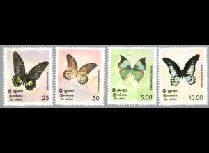 Sri Lanka: 1978, Schmetterlinge