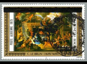 Benin: 1987, Freimarken-Überdruck 50 auf 140 Fr. (Kat.-Nr. 648 mit Aufdruck)