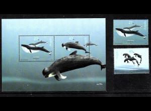 Angola: 2003, Wale (Satz und Blockausgabe)