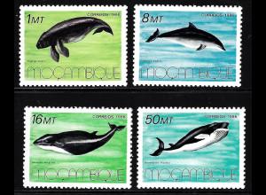 Mocambique: 1986, Meeressäugetiere