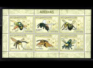 Mocambique: 2007, Kleinbogen Biene und Wespen