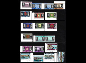 Guernsey: 1969, Freimarken in alter Währung