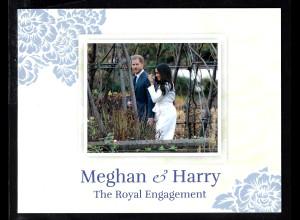 Insel Man: 2018, Blockausgabe Hochzeit von Prinz Harry und Meghan Markle