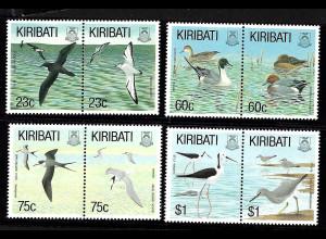 Kiribati: 1993, Vögel (Zdr.-Paare)