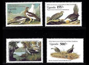 Uganda: 1985, Vögel