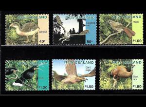 Neuseeland: 1996, Ausgestorbene Vögel