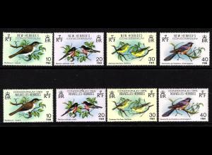 Neue Hebriden: 1980, Vögel (englische sowie französische Ausgabe)