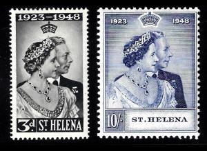 St. Helena: 1948, Omnibusausgabe Silberhochzeit (Falz)