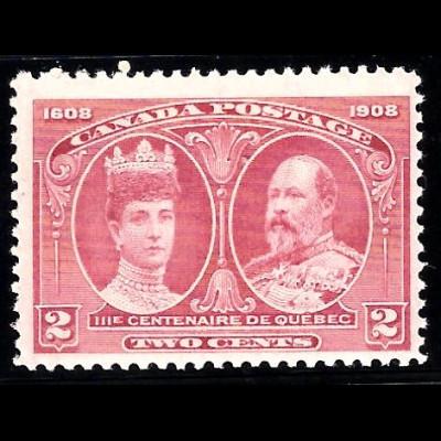 Kanada: 1908, Stadt Quebec 2 C. (Einzelstück)